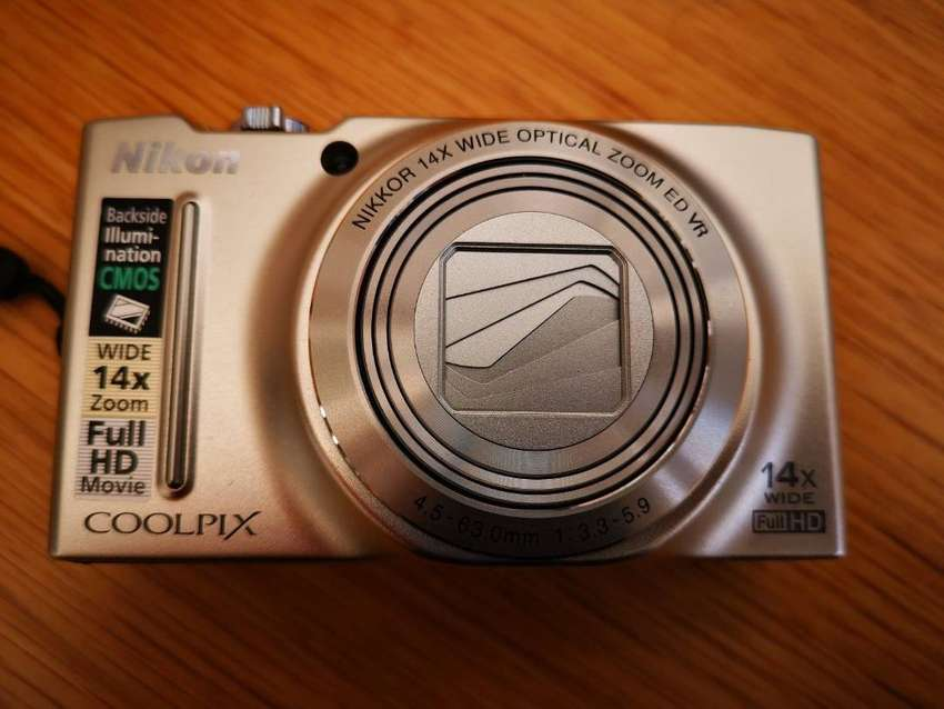 Nikon coolpix s8200 14x full hd wide lens 0