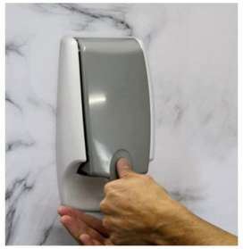 Wall mount dispenser