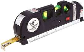 Laser Level Pro 3 Multi-Purpose Measuring Tool With 2.5m Tape