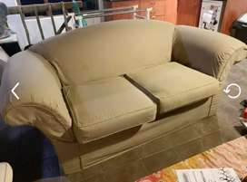 2x double seater couch