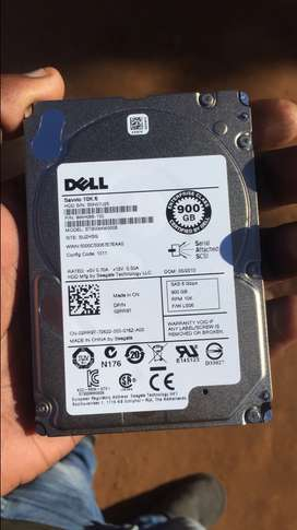 DELL SAS HARD DRIVE, 6 months OLD