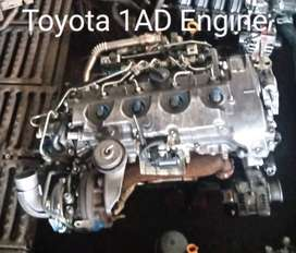 Toyota 1AD Engine for Sale