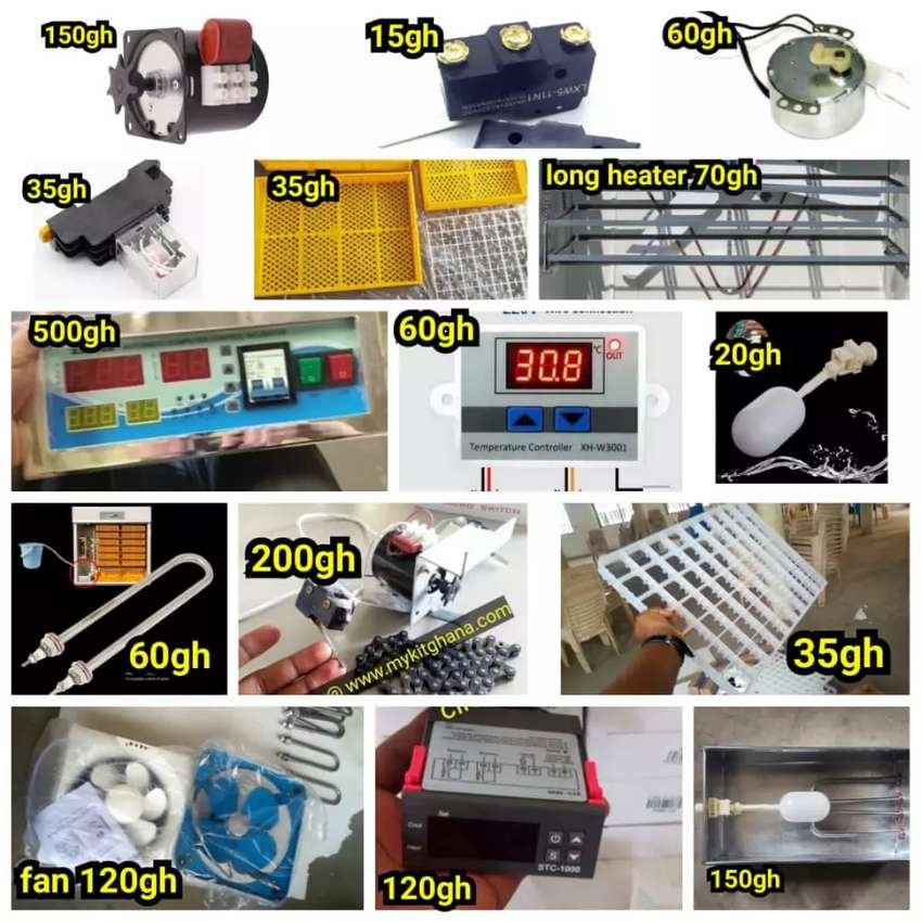 Animal Accessories and Incubator parts 0