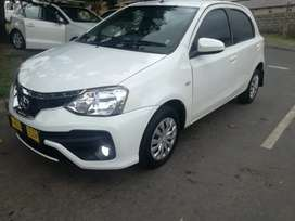 2014 Toyota Etios in immaculate condition