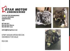 Nissan Np200 Recon gearbox