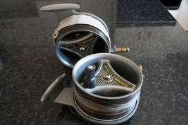 Two Magnum fishing reels