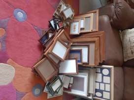 Assorted photo frames for sale