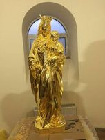 Золочение позолота сусальным золотом предметов интерьера и экстерьера