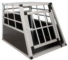 Klatka/transporter aluminiowy dla zwierząt. Duży.