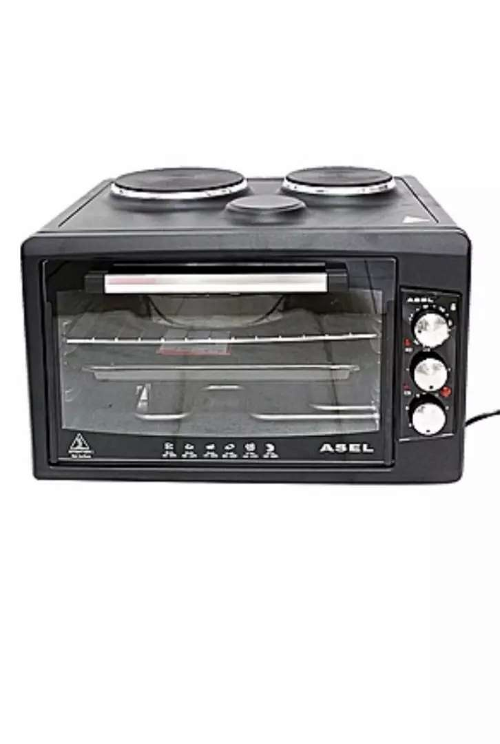 Microwave with hotplates 0