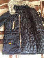 Зимняя парка куртка для подростка, размер С\М