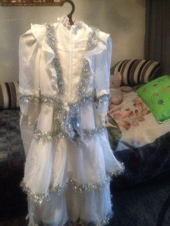 Напрокат Плаття зими - снiжинки