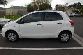 2010 Toyota Yaris 1.3 T3 5-door with low mileage on the Clock