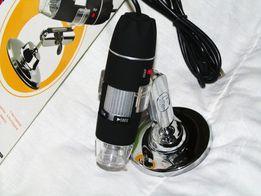 USB цифровой микроскоп MicroView 50-500Х с LED подсветкой, новый