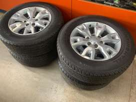 """18"""" original ford mags and tyres"""
