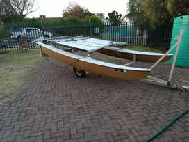 Hobie 14 with trailer, 3 life jackets and all the equipment