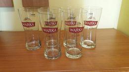 Kufle do piwa Warka, Żywiec, Kujawiak, szklanki kolekcje