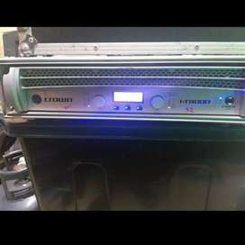 Crown IT8000 amplifier