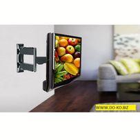 Obrotowy uchwyt do telewizora TV LCD LED 32 - 52,na ściane,wysięgnik,
