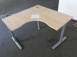 """Офисный угловой стол """" Энран"""" """"Яблоня светлая"""" бу, 460 шт"""