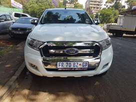 2017 Ford Ranger 3.2 4x4 6Speed Gear Automatic with leather seats