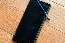 Galaxy Note 9 Midnight Black with Pen And Charger.