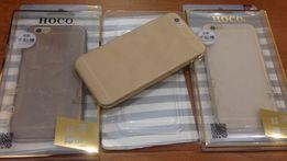 Матовый силиконовый чехол HOCO на айфон 6/6S
