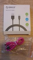 Kable USB na micro lub iPhone Lightning