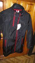 wodoodporna kurtka-płaszcz na rower i wędrówki piesze roz.S-102cm