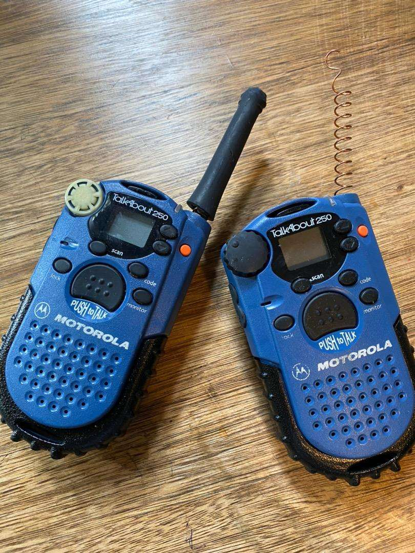 Motorola walkie talkies 0