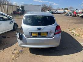 Datsun go+ ready for stripping @ sheeraz auto spares