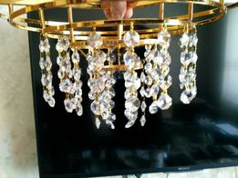 Хрустальные подвески из 4х кристаллов