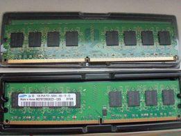 Samsung DDR2-667 1Гб (Intel,AMD)