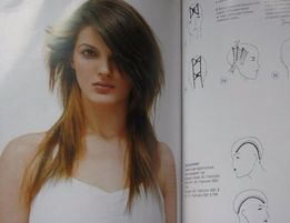 Журнал для парикмахера. Стрижки, окрашивание