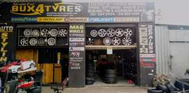 Tyre Fitment Centre for sale