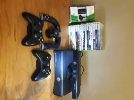Xbox 360, 3 Controllers, Kinetic,18 games