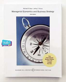 Managerial Economics and Business Strategy Textbook
