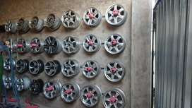 Mag rims different sizes. Gwm, Ford ranger,  gd6, pajero and many more