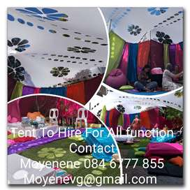 Stretch Tent to hire