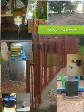 During Lockdown services Electric fence and Gate motors installations