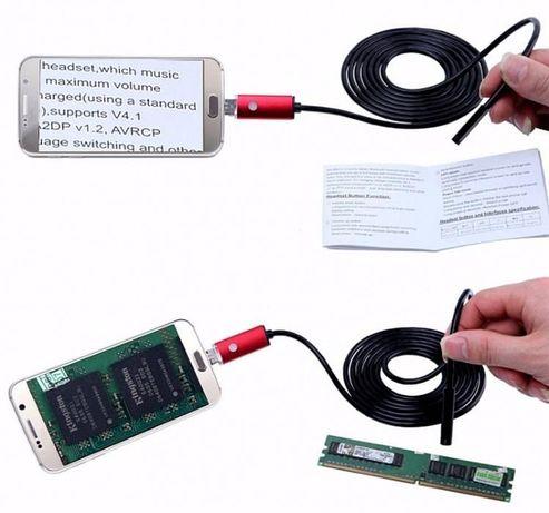 Эндоскоп бороскоп USB web камера (АНДРОИД OTG) глазок наблюдения 2м Кривой Рог - изображение 8