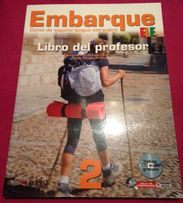 Embarque 2 CD gratis książka dla nauczyciela Edelsa stan idealny