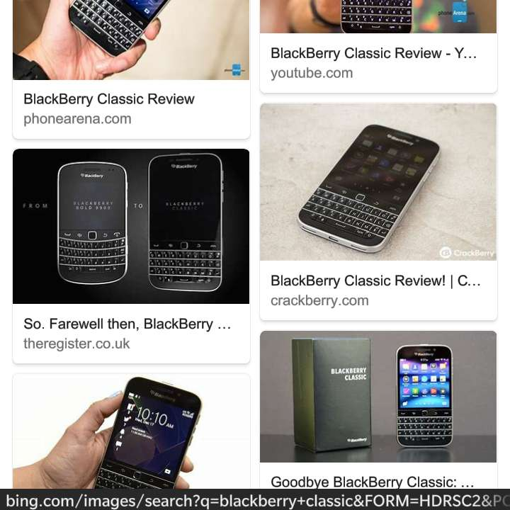 blackberry classic for sale 0