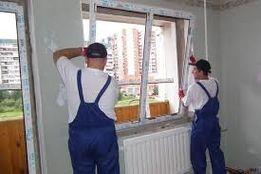 Установка, ремонт, регулировка металлопластиковых окон, входных дверей