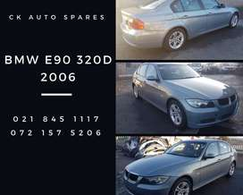 BMW E90 320D 2006 stripping for spares