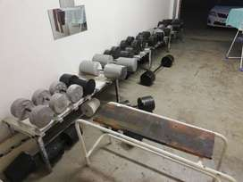 Gym Equipment, weights