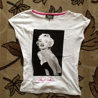 Bluzka t-shirt Mohito Marylin Monroe 34 XS