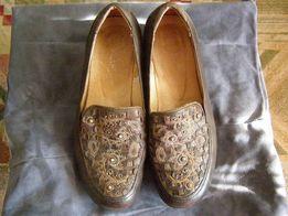 туфли женские натуральная кожа б\у