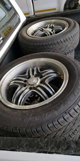 """14"""" Aline mags and tyres"""