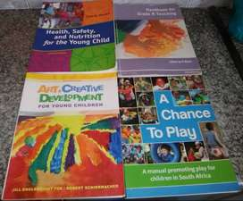 Unisa BEd foundation phase prescribed books and ECD handbooks
